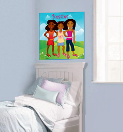 Black Girl Magic - Charmz Besties Poster1