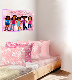 Black Girl Magic - Charmz Girls Poster