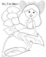 Free Coloring Page-Charmz Pixie: Starr